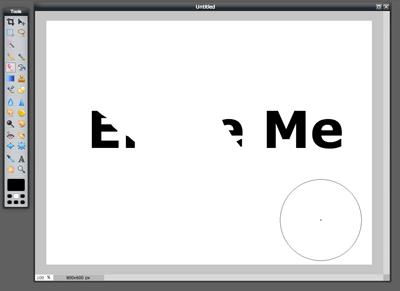 Eraser Tool (Screen 4)