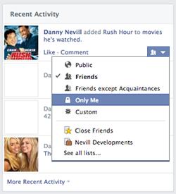How to create a facebook profile (Screen 9)