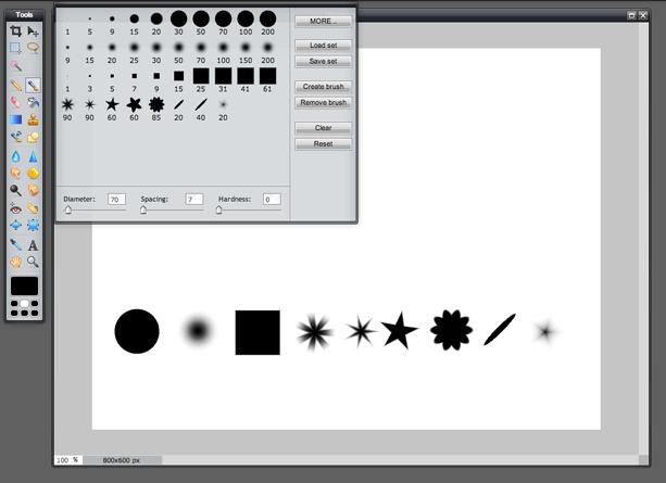Paint Tool (Screen 1)