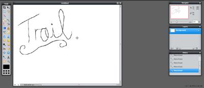 Pencil Tool (Screen 3)