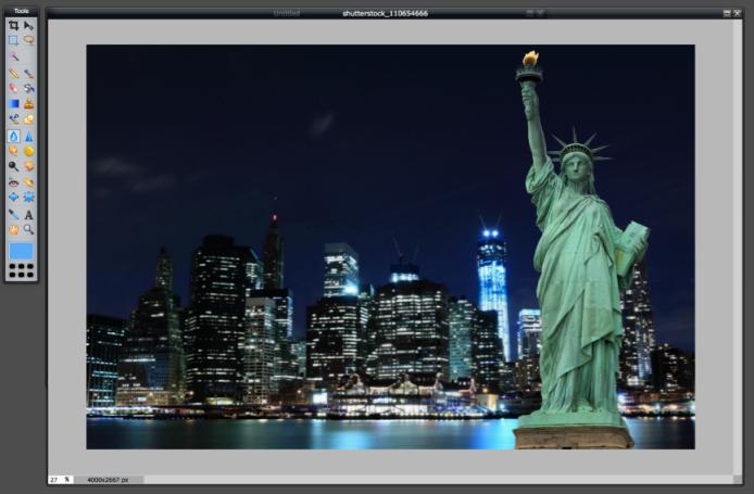 Blur Tool - Blurred Image