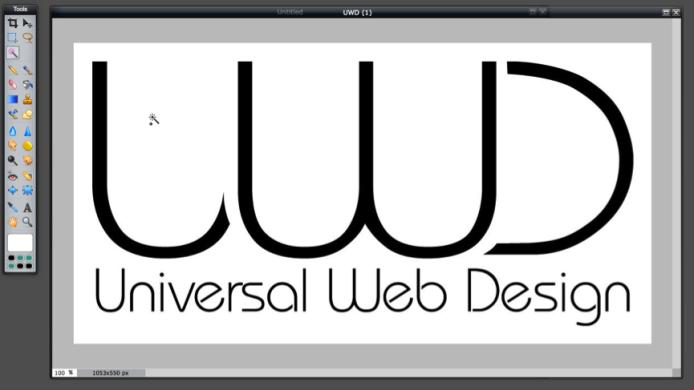 Fill Tool - White Logo Canvas