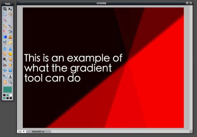 Gradient Tool - Example