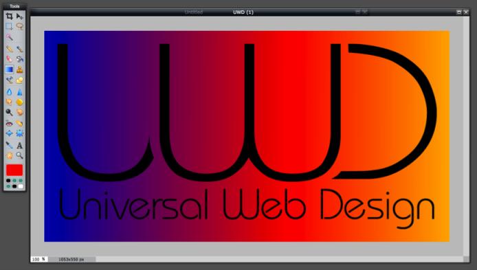 Gradient Tool - Rainbow Colour Scheme