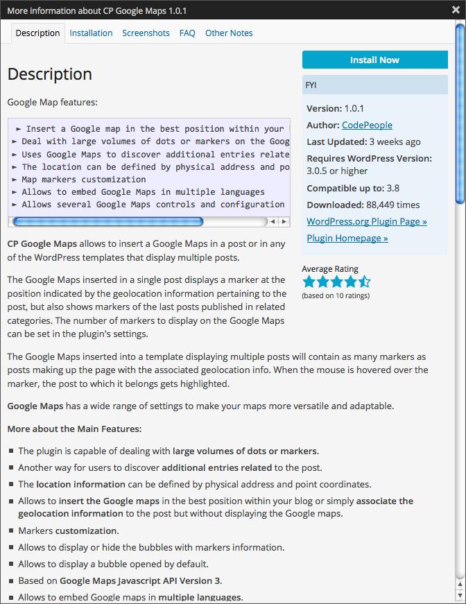 [G-WP-0010] - An Introduction to wordpress plugins 3