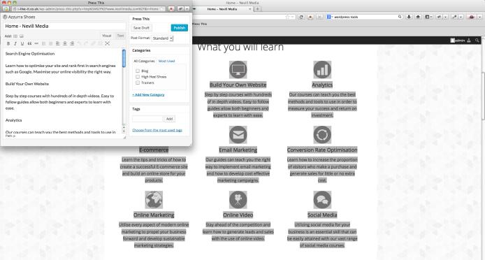 [G-WP-0011] - WordPress Tools 1